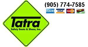 "E5617 Tatra 6"" Black Slip-on Leather Welders Gaiter Safety Boots -"